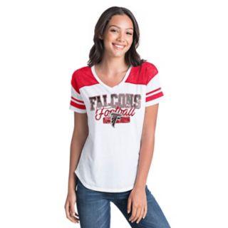 Women's New Era Atlanta Falcons Burnout Tee