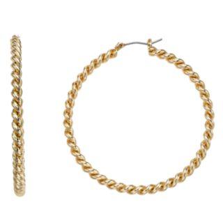 Napier Twist Hoop Earrings