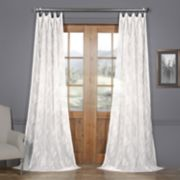 EFF Avignon Vine Patterned Sheer Curtain