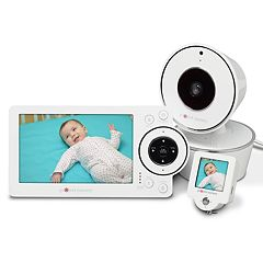 Project Nursery 5' HD Baby Video Monitor System with Mini Monitor