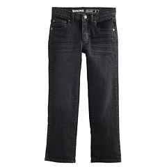 Boys 4-12 SONOMA Goods for Life™ Black Straight Jeans in Regular, Slim & Husky