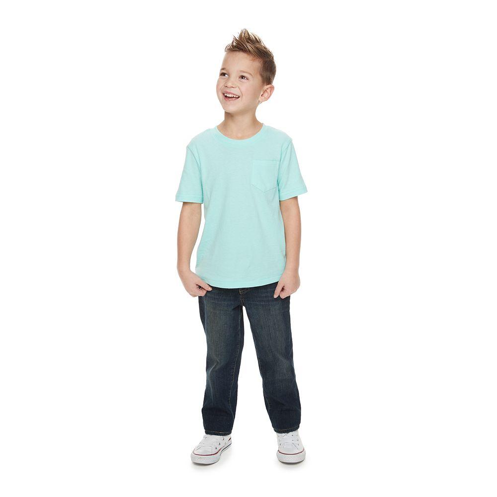 Boys 4-12 SONOMA Goods for Life® Straight Jeans in Regular, Slim & Husky