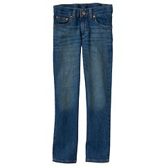 Boys 4-12 SONOMA Goods for Life™ Straight-Leg Jeans in Regular, Slim & Husky