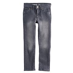 Boys 4-12 SONOMA Goods for Life™ Gray Skinny Stretch Jeans in Regular, Slim & Husky