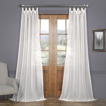 EFF Montpellier Striped Sheer Curtain