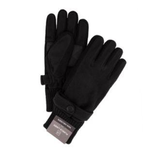 Men's Van Heusen Wool-Blend Touchscreen Tech Fleece-Lined Gloves