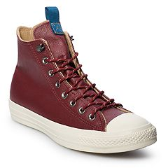 7cb2ccdf6e2f Men s Converse Chuck Taylor All Star Leather High Top Shoes