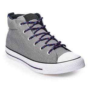 3e15c869cb4f Men s Converse Chuck Taylor All Star Street Mid Suede Sneakers