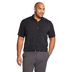Men's Van Heusen Air-Printed Non-Iron Short-Sleeve Shirt