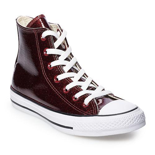 0e152c5237bf Women s Converse Chuck Taylor All Star Glitter High Top Shoes