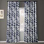 EFF Triad Smoke Printed Cotton Twill Curtain