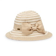 Women's Betmar Marilyn Ribbon Braid Sun Hat