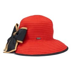 Women's Betmar Malta Back Bow Sun Hat