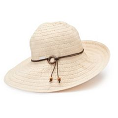 Women s Betmar Coconut Ring Safari Braided Sun Hat 8a2121043ef