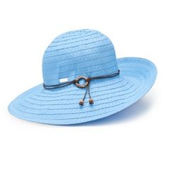 Women's Betmar Coconut Ring Safari Braided Sun Hat