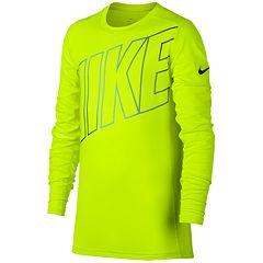 Boys 8-20 Nike Base Layer Training Top