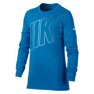 Boys 8-20 Nike Base Layer Training Top