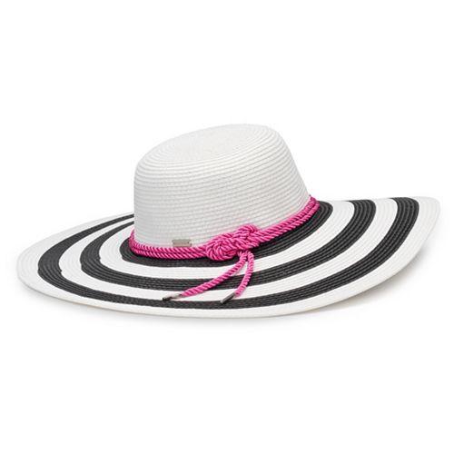 04f6da2b4c8dd Women s Betmar Demetria Striped Wide Brim Sun Hat