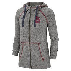Women's Nike St. Louis Cardinals Full Zip Fleece