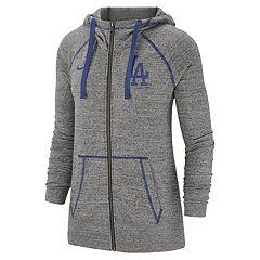 Women s Nike Los Angeles Dodgers Full Zip Fleece 5a68fe083