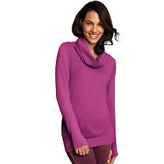 Women's Maidenform Sport Base Layer Seamless Cowl Neck Top