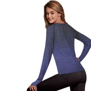 Women's Maidenform Sport Base Layer Seamless Long Sleeve Top
