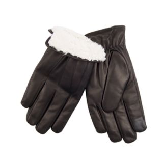 Men's Dockers® InteliTouch Touchscreen Leather Gloves