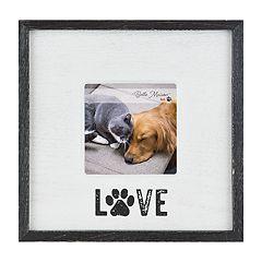 Belle Maison 'Love' Paw Print 4' x 4' Frame