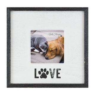 "Belle Maison ""Love"" Paw Print 4"" x 4"" Frame"