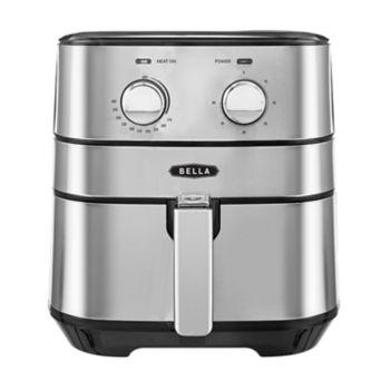 Bella 5.3-qt. Stainless Steel Air Fryer