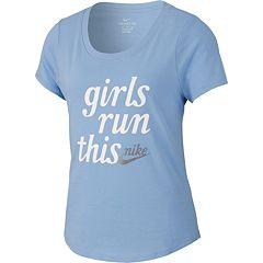 Girls 7-16 Nike 'Girls Run This' Graphic Tee