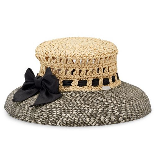 Women s Betmar Maribel Crocheted Crown Sun Hat 6973fc3a69f