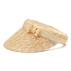 Women's Betmar Dunewood Braided Straw Visor