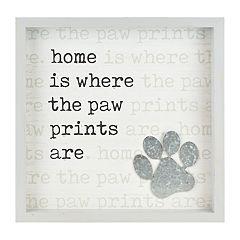 Belle Maison 'Paw Prints' Wall Decor