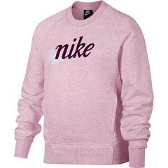 Girls 7-16 Nike Swoosh Graphic Sweatshirt