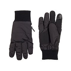 Men's Dockers® InteliTouch Touchscreen Knit Cuff Gloves