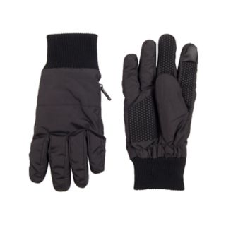 Men's Dockers® InteliTouch Touchscreen Knit Cuff Gloves