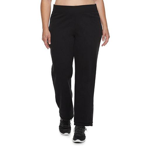 Plus SIzeTek Gear® Fleece Mid-Rise Sweatpants