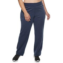 Plus SIzeTek Gear® Fleece Mid-Rise Sweatpants