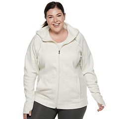 Plus Size Tek Gear® Hooded Fleece Jacket