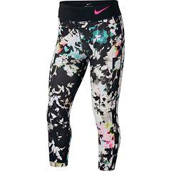 Girls 7-16 Nike Printed Capri Leggings