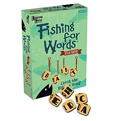 Fishing for Words Dice Game by University Games