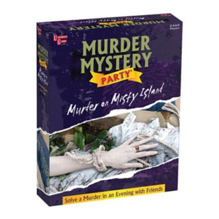 Murder Mystery Party Murder on Misty Island by University Games