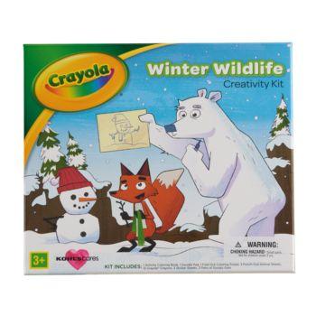 Kohl's Cares Crayola Winter Wildlife Creativity Kit