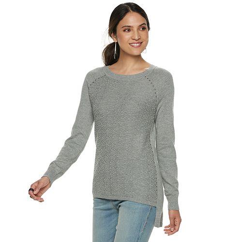 Women's Rock & Republic® Raglan Sleeve Sweater