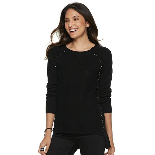 Women's Rock & Republic® Raglan Sleeve Sweater