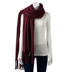 Women's madden NYC Striped Oversized Muffler Scarf