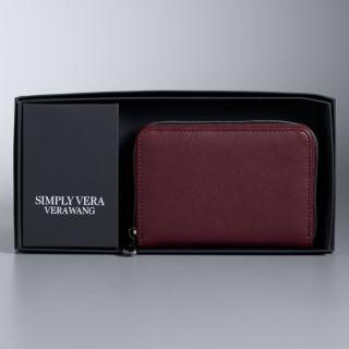 Simply Vera Vera Wang Boxed Index Wallet