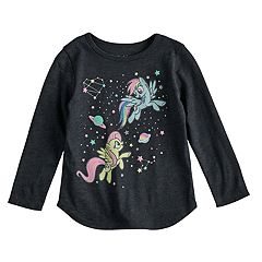 Toddler Girl Jumping Beans® My Little Pony Rainbow Dash & Fluttershy Graphic Long-Sleeve Tee