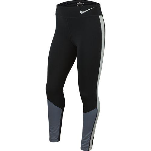 Girls 7-16 Nike Colorblock Athletic Leggings